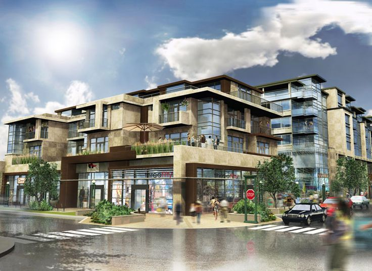 Retail and residential projects google search mixed for Retail apartment plans