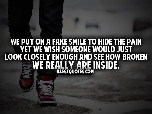 1000+ Fake Smile Quotes On Pinterest