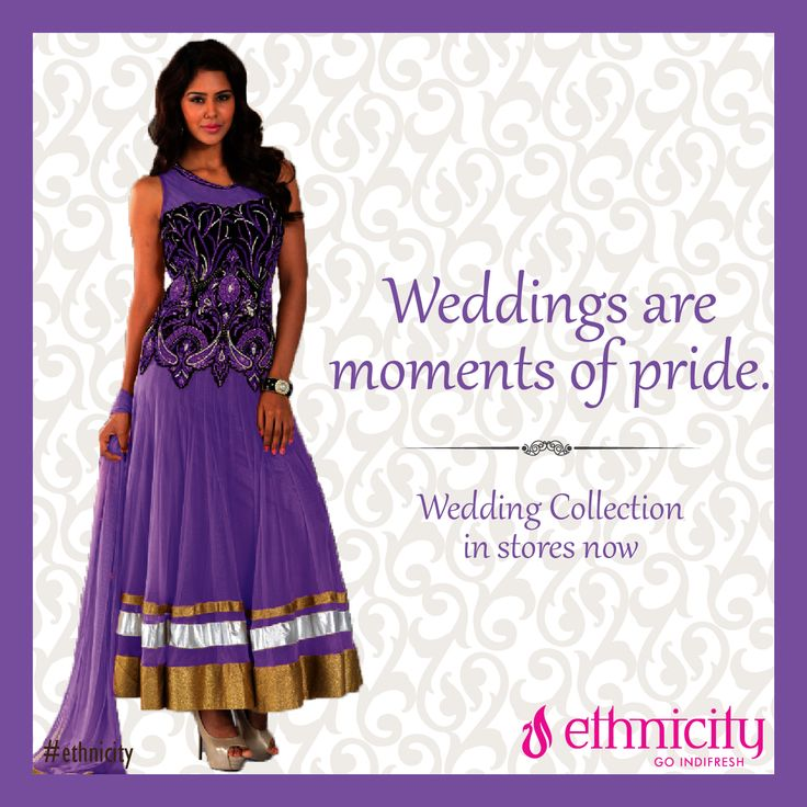 Feel the pride in being the groom's sister, wear a purple attire for this special day. #ethnicity#indifresh#ethnicwear#occasion#traditionalwear#wedding#weddingwear#weddingfesyival#weddingtime#moment#pride