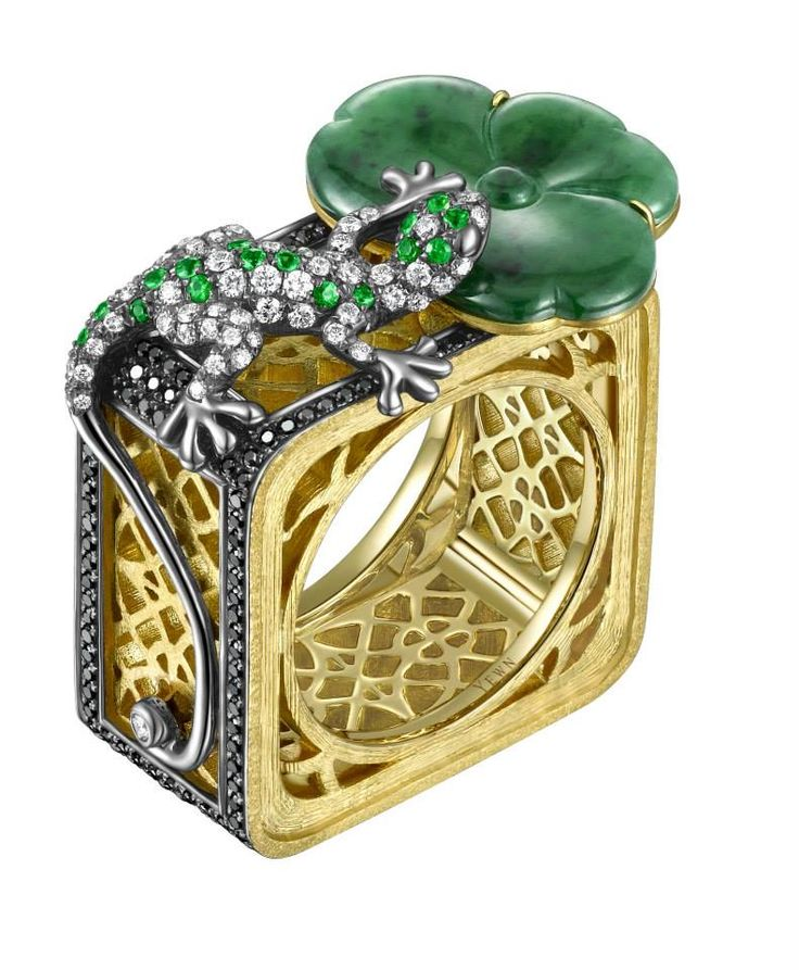 print cgtrader stl model jewelry models rings ring lizard