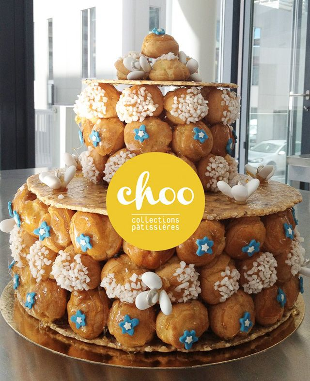Le wedding cake version choux ! j en veux un !