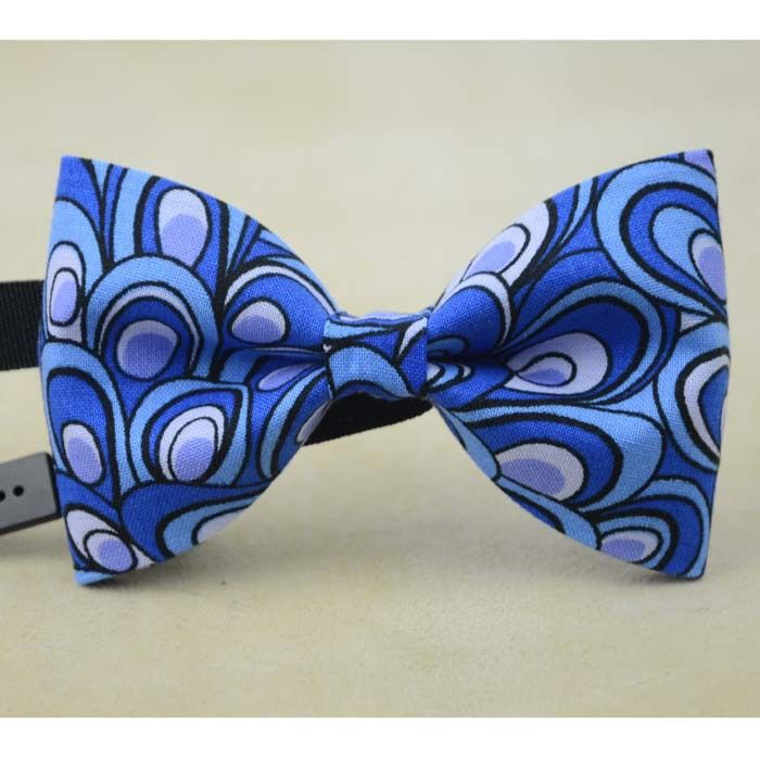 light blue peacock tail print bow tie floral neckties for men handmade women accessories father gift wedding ties-in Ties & Handkerchiefs from Women's Clothing & Accessories on Aliexpress.com | Alibaba Group