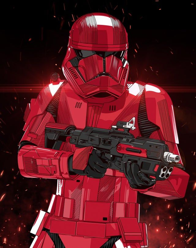 Just Finished Some Sith Trooper Vector Art Imaginaryjedi Star Wars Pictures Star Wars Images Star Wars Characters