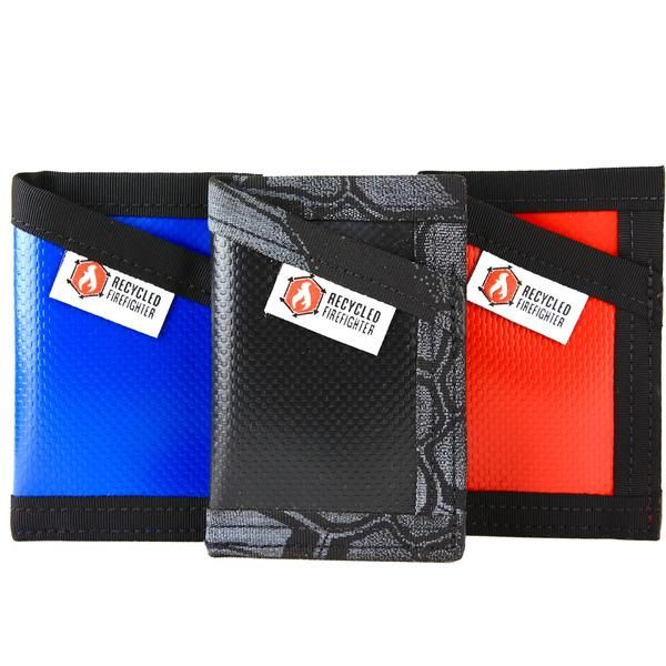 repurposed firefighter gear | Repurposed Credit Card Wallet by Recycled Firefighter