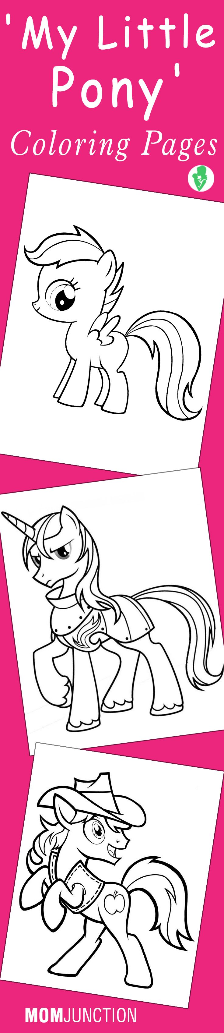 My Little Pony coloring pages // Páginas para colorear de Mi pequeño pony