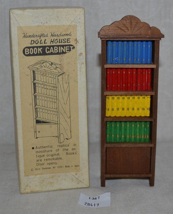 ThriftCHI Doll House Furniture Shackman Book Shelf | EBay
