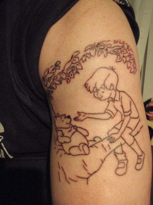 17 best ideas about winnie the pooh tattoos on pinterest for Winnie the pooh tattoo