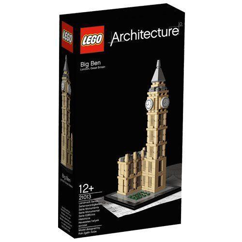 LEGO Architecture LEGO 21013 Big Ben Clock Big Ben Tower Building Toy Lego Sets #LEGO