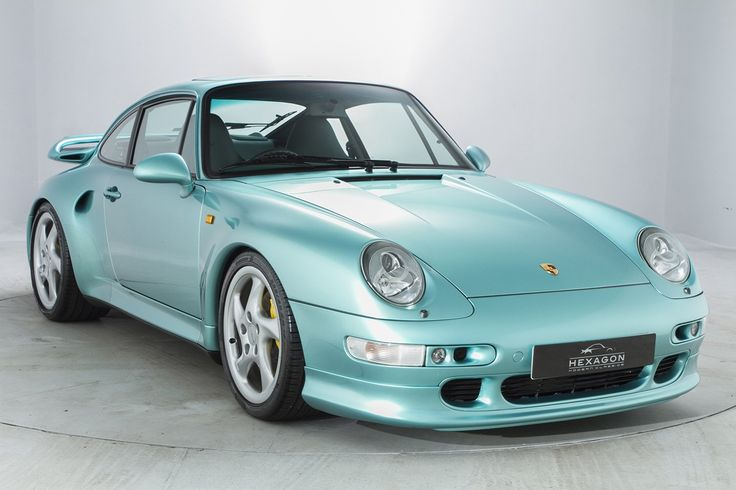 1998 Porsche 911 (993) Turbo S. Great car - not so sure about the colour