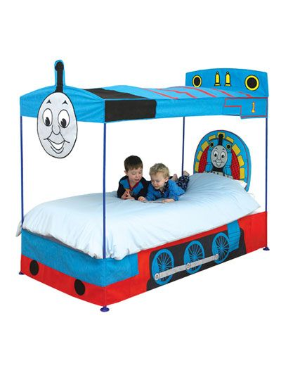 Thomas The Tank Engine Thomas And Friends Bed Canopy Ready Room Four Poster  Create The Room
