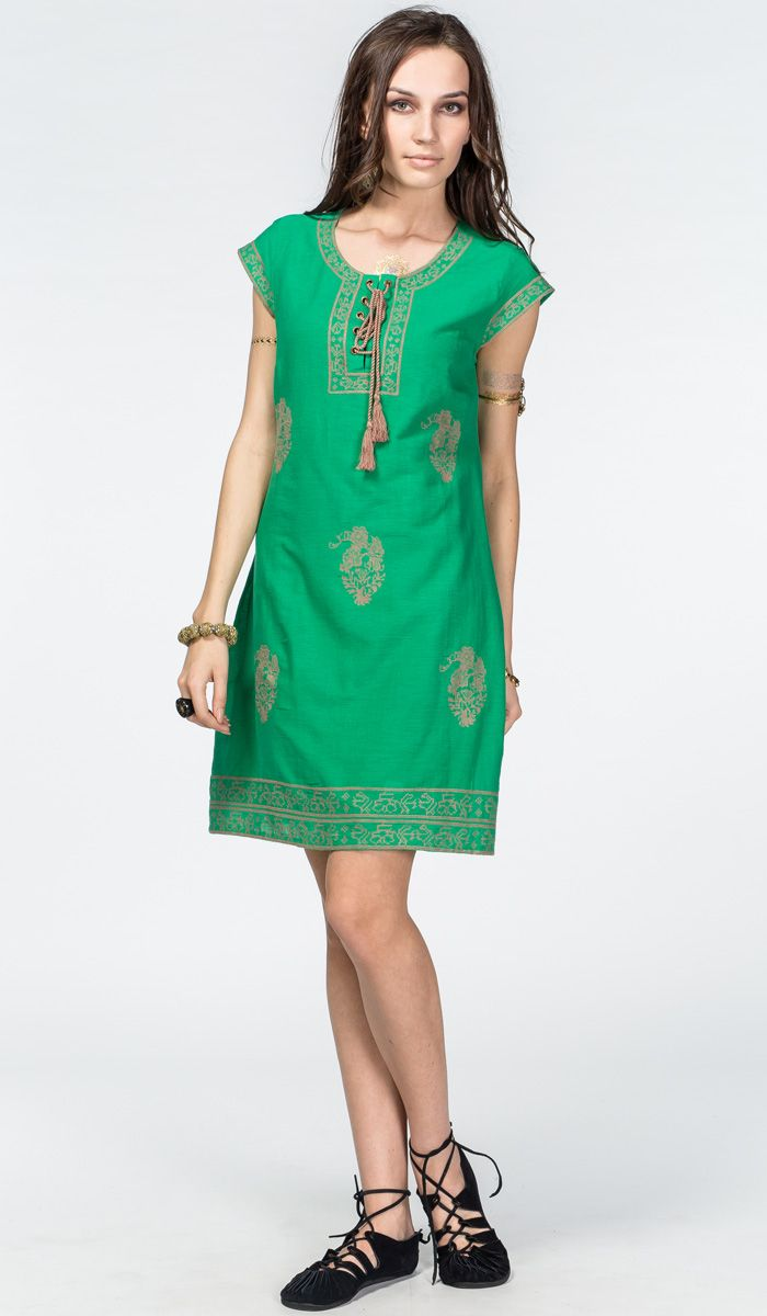 http://indiastyle.ru/products/plate-dolina-zhizni Зеленое платье из льна в индийском стиле, восточный стиль одежды (этника, этно) #лен #платье #индия 2120 рублей