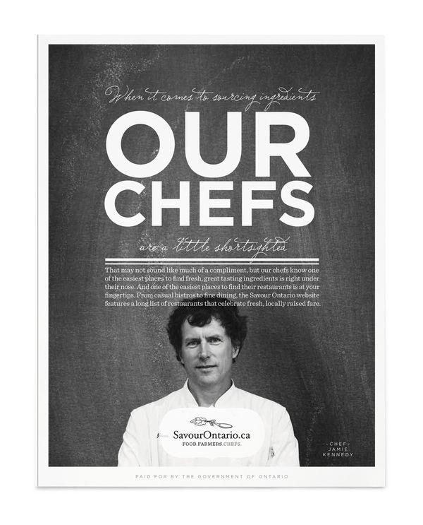 SAVOUR ONTARIO  Government program supporting local Ontario restaurants.
