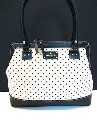 50 best kate spade images on pinterest kate spade purse couture new kate spade belltown ashlyn purse shoulder bag handbag polka dot ebay junglespirit