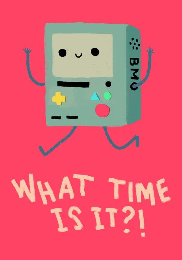 Adventure Time - BMO. $6.00, via Etsy.