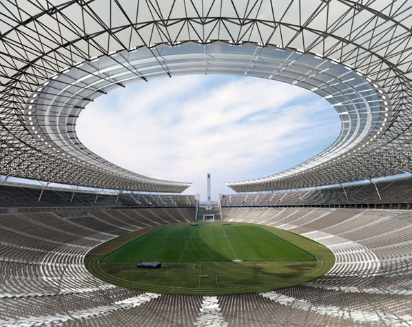 Berlin Stadium #sport #amazingarchitecture