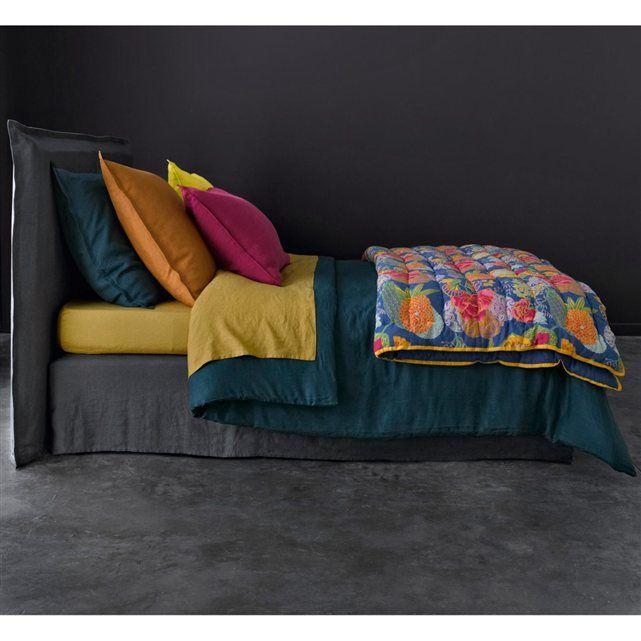 Housse De Couette Lin Lave Elina Pinterest Bedrooms Design