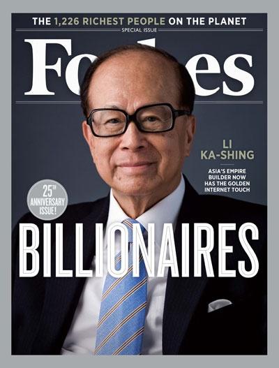 2012 World's Billionaire's: Li Ka-shing's Midas Touch