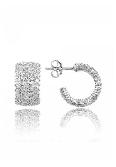 brinco-de-argola-pequena-prata-925-com-zirconias-brancas-waufen-joias 91b31fc837