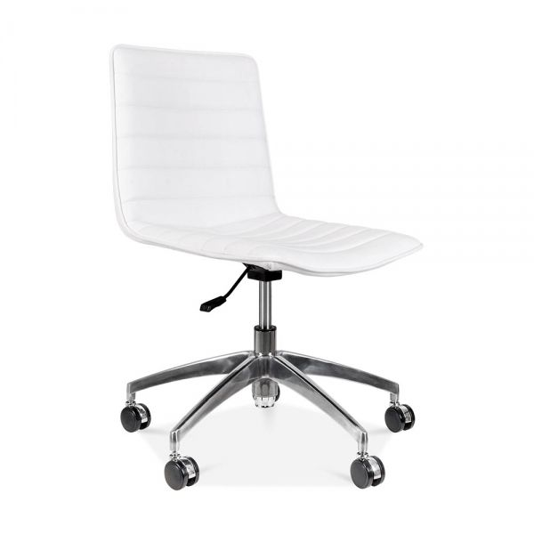 Cult Living Noble Boardroom Chair in White | Cult Furniture UK