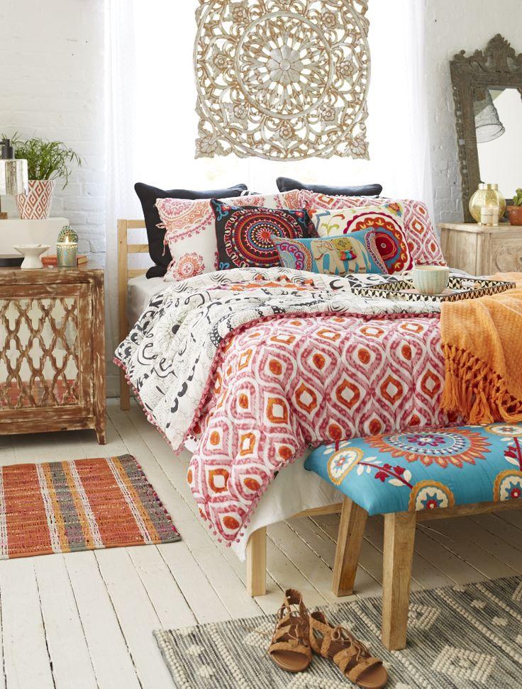 46 best Boho images on Pinterest | Bohemian decorating, Bedroom ...