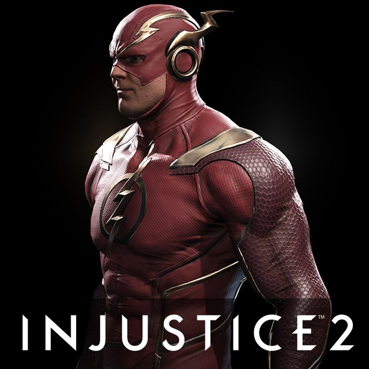 The Flash - Injustice 2, Ian Naud on ArtStation at https://www.artstation.com/artwork/42Rvl
