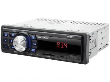 Auto Rádio Multilaser One P3213 - com Entrada Auxiliar e USB   Super Oferta: de R$ 200,00 por R$ 99,90 em até 3x de R$ 33,30 sem juros no cartão de crédito