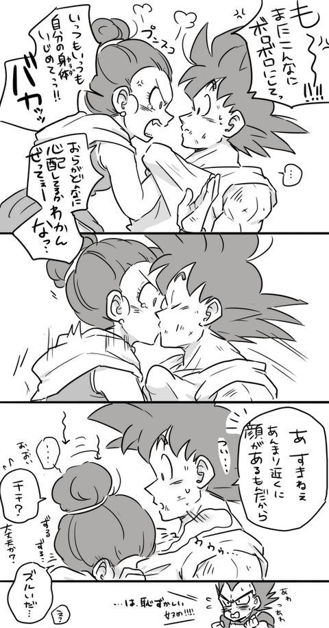 I wonder if this is how Goku and Chi-chi solve all their arguments