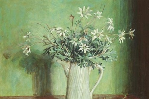 margaret olley flannel flowers painting