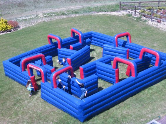 Water Tag Maze