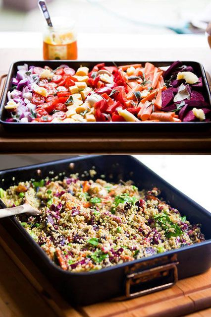 Hemsley & Hemsley Quinoa Salad & Basil Brazil Nut Pesto Recipe
