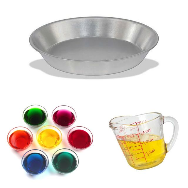 FUN SCIENCE:  Oil & Water Experiment.  Great for all ages!