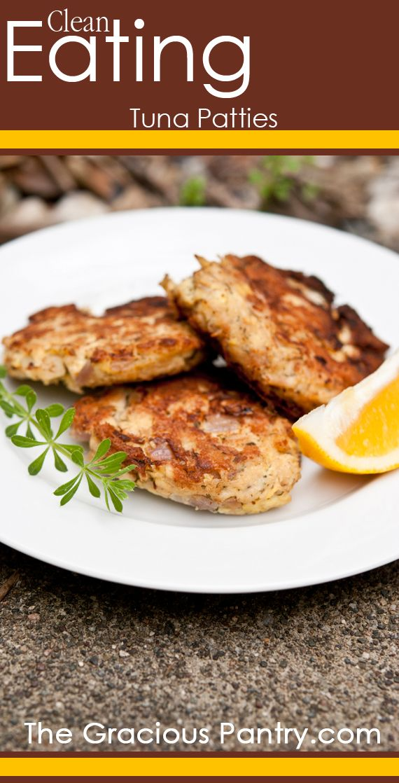 Clean Eating Tuna Patties. **We really liked these but I'll put some more spices in next time for some more flavor.