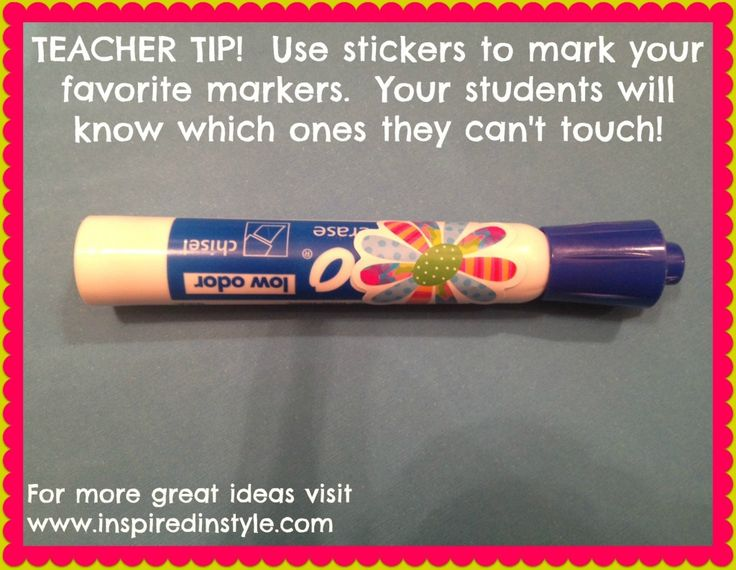 marker tip from Inspired In Style