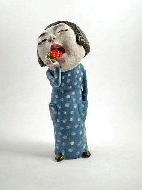 Best 25 Ceramic Sculpture Figurative Ideas On Pinterest