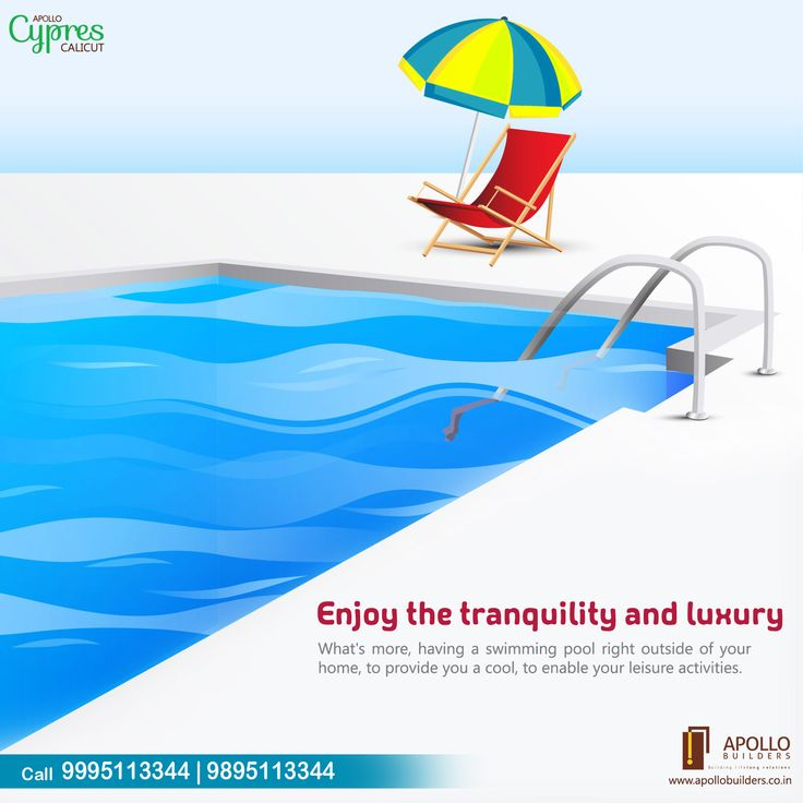 What's more.., having a swimming pool right outside of your home, to provide you a cool, to enable your leisure activities. Enjoy The Tranquility and Luxury Call 9995113344 | 9895114455. https://goo.gl/HxqJAe #apollo_cypress #luxury_apartments_in_calicut #luxury_flats_in_calicut #flats_in_kozhikode #apartments_in_kozhikode #apollo_builders #calicut