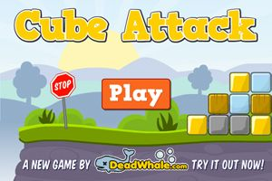 Try our new game Cube Attack!