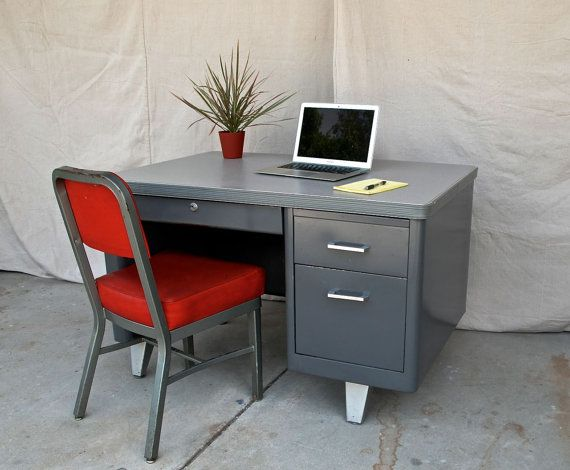 vintage metal office furniture. desk vintage industrial tanker mid century by inthebigshed metal office furniture c