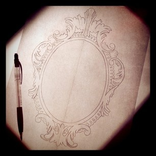 vintage frame tattoo design.  Frame Vintage Frame FramesNovaTattoo IdeasTattoos In Frame Tattoo Design S