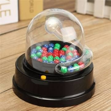 Electric Lucky Number Picking Machine Mini Lottery Bingo Games Shake Lucky Ball by Completestore >>> Check out the image by visiting the link.