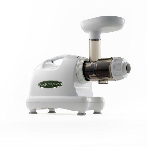 Omega-J8004-Nutrition-Center-Commercial-Masticating-Juicer-White