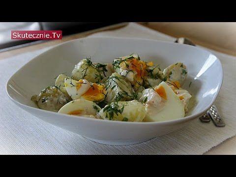 Młode ziemniaki z jajkiem i koperkiem w lekkim sosie jogurtowym :: Skute...