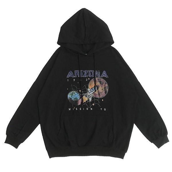 Lu Studio Men Harajuku Hoodies Sweatshirts Oversized Streetwear Black Winter Basic Hoodies