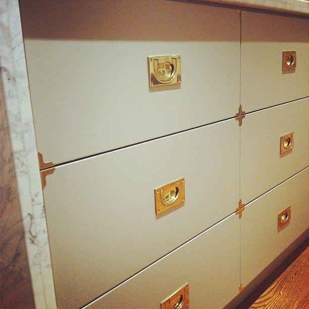 Beautiful Custom Kitchen Cabinet Hardware