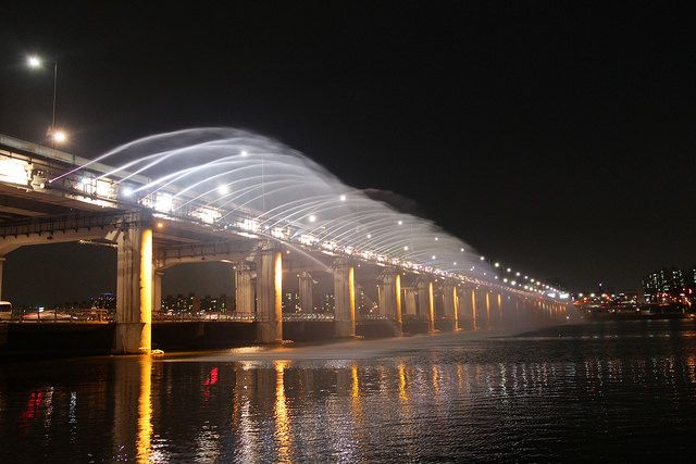 summer under Banpo bridge