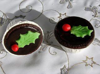 Karácsonyi csokoládés sajttorta cupcake