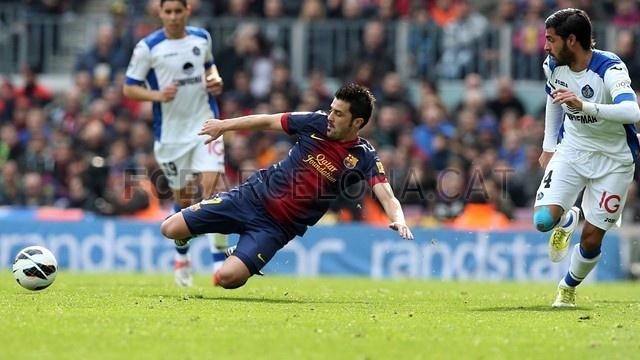 David Villa, FC Barcelona | 2013-02-10 BARCELONA 6-1 GETAFE.