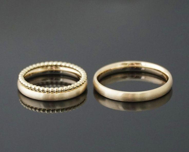 Eherring DU & ICH narrow SET ball ring