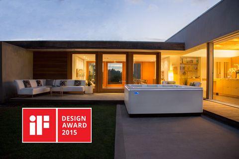STIL modern hot tub wins iF Design Award
