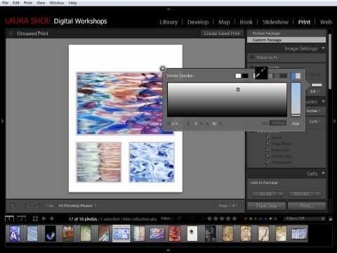 Tutorial: How to Use Lightroom's Custom Print Package Layout Style to Create Freeform Photo Layouts