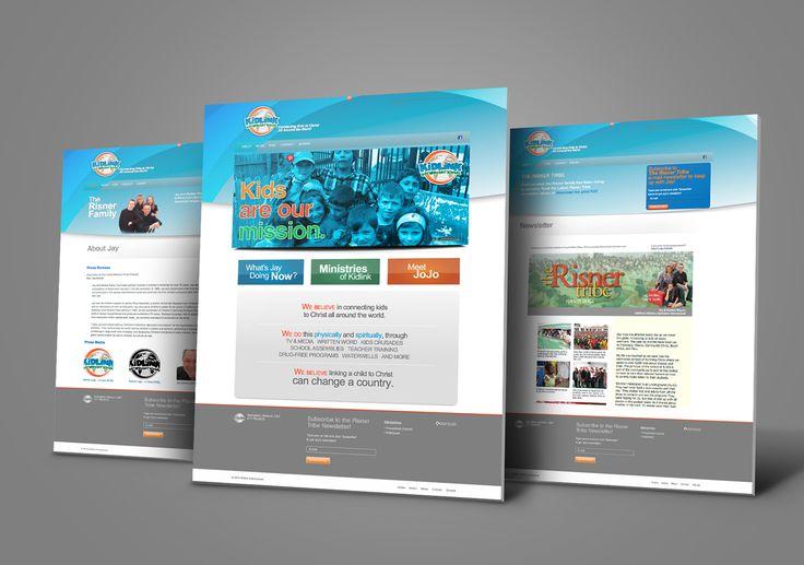 Kettle Fire Creative, Kidlink Website, Kidlink International, ministries, children, advertising, marketing, web development, Christian, nonprofit, design